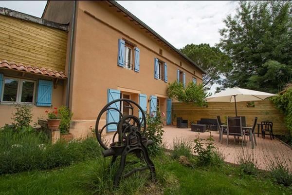 le Chai Boissel espace extérieur - Location de vacances - Gaillac
