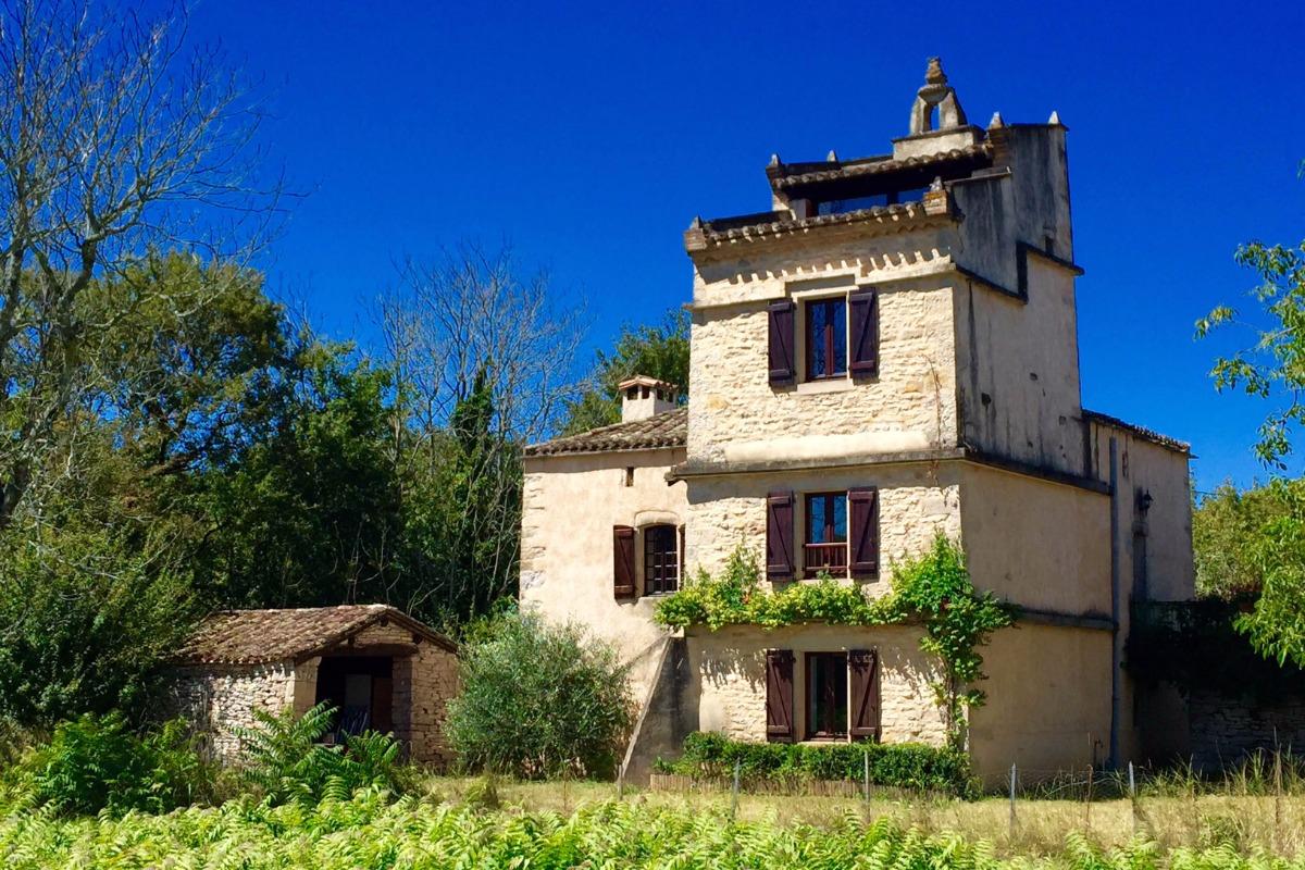 Gîte Le Pigeonnier Joanny à Penne-tarn- 10 personnes - Location de vacances - Penne
