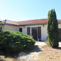 Maison à Lisle sur Tarn façade principale - Location de vacances - Lisle-sur-Tarn