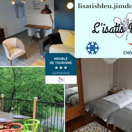 Le Gîte l'Isatis Bleu - Location de vacances - Parisot