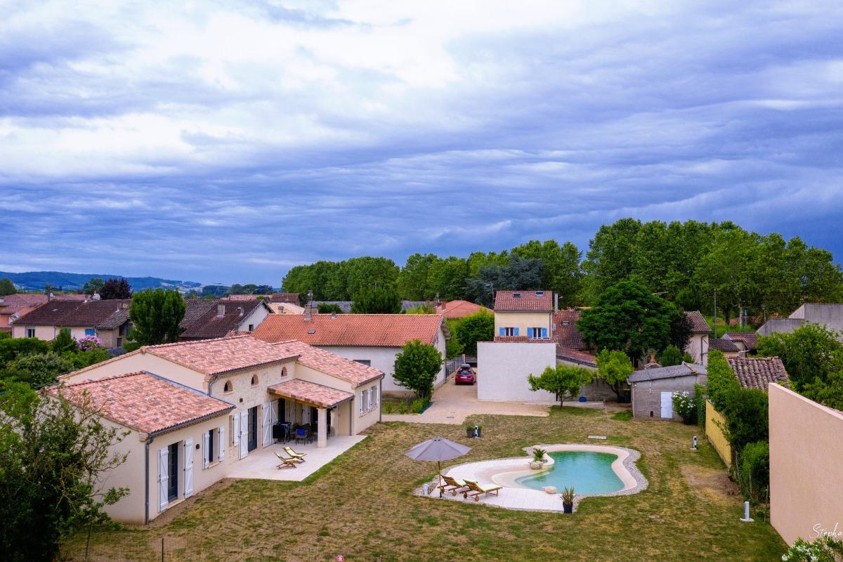 Maison plain pied - 3 chambres - Lisle sur Tarn - Tarn - Occitanie - Albi - Toulouse - Location de vacances - Lisle-sur-Tarn