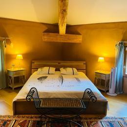 Chambre Cristal , très spacieuse - Chambre d'hôtes - Montdurausse
