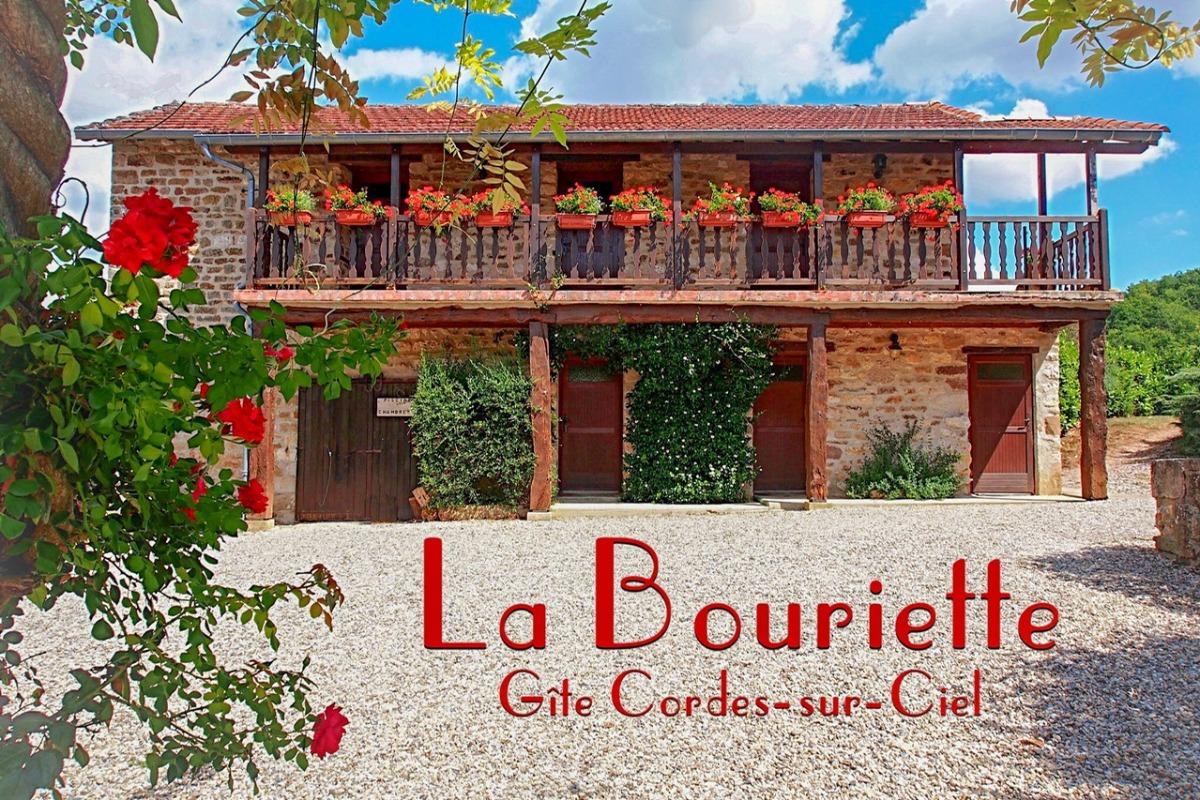 Vue du gite  - Location de vacances - Saint-Marcel-Campes
