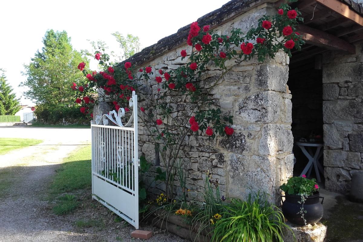 Entrée gîte - Location de vacances - Saint-Georges