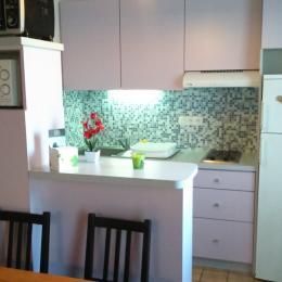 Espace cuisine - Location de vacances - Montpezat-de-Quercy