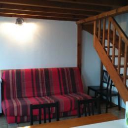 Espace salon - Location de vacances - Montpezat-de-Quercy