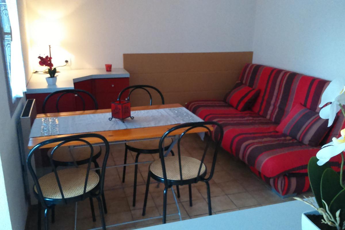Salon avec Clic Clac - Location de vacances - Montpezat-de-Quercy