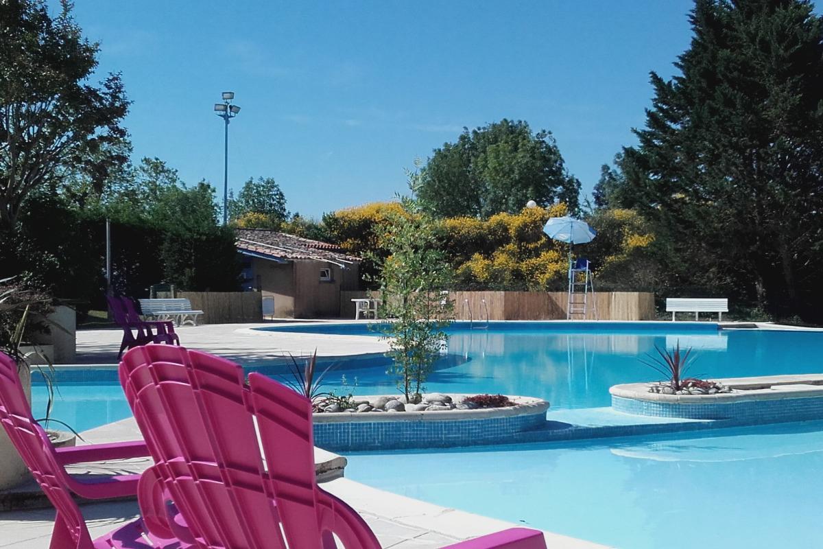 Piscine - Location de vacances - Montpezat-de-Quercy