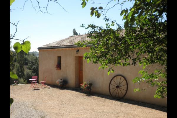 Le lac vu du gite - Location de vacances - Molières