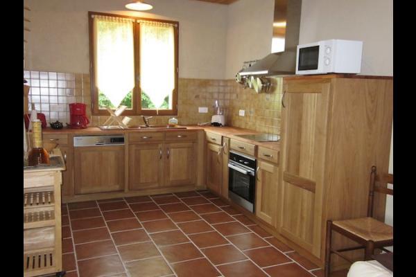 Vue du lac depuis sa terrasse couverte - Location de vacances - Molières
