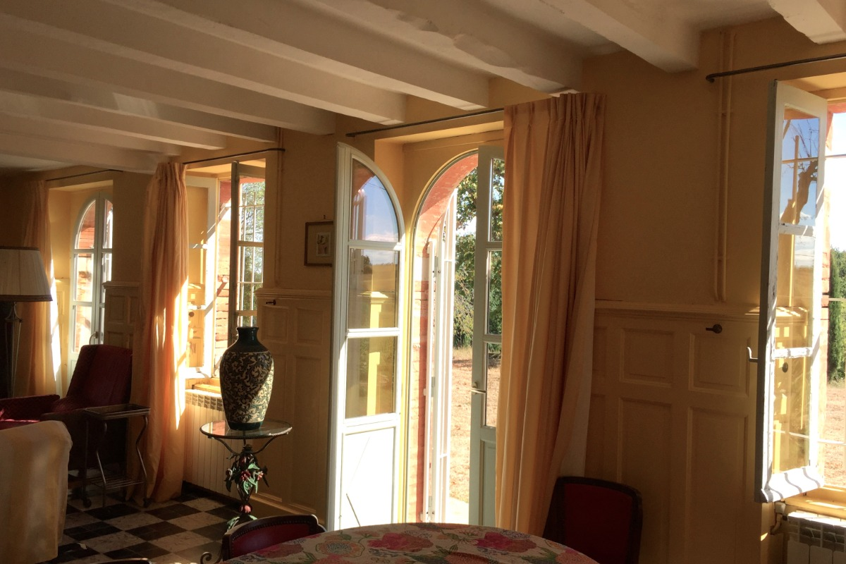 salon, côté soleil... plein sud  - Location de vacances - Gariès