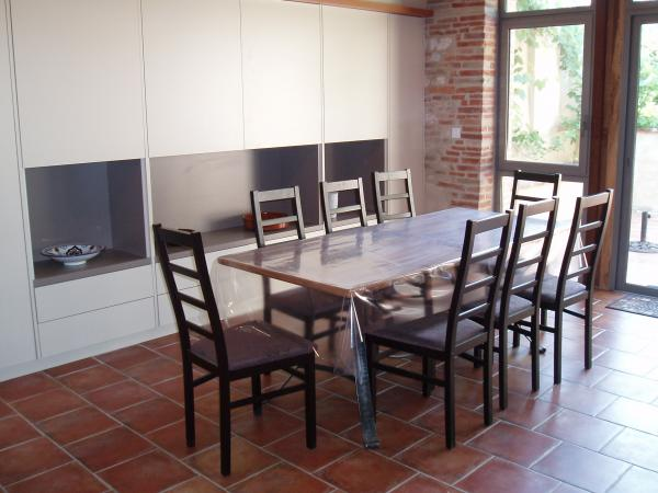 Salle à manger - Location de vacances - Beaumont-de-Lomagne