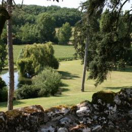 Le Farat - Gîte La Maison de Campagne - Parc et lac privé. - Location de vacances - Auvillar