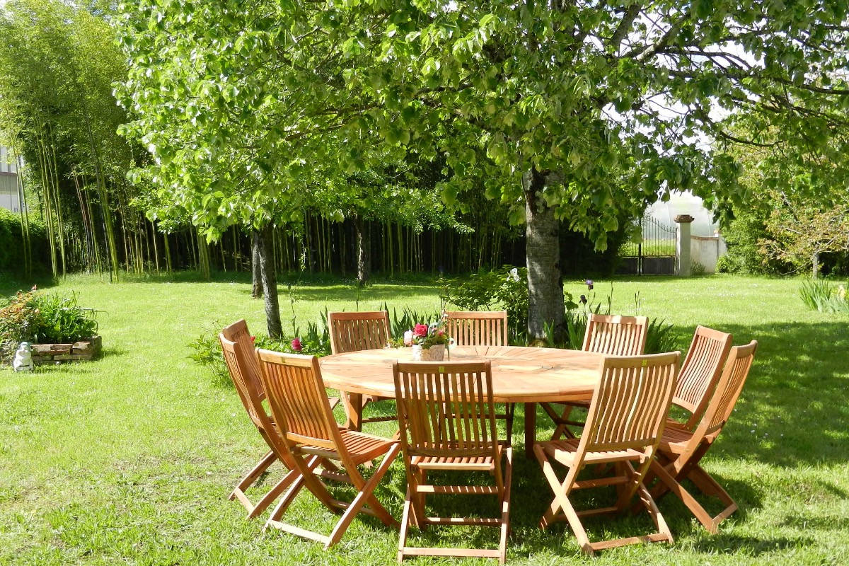 le salon jardin - Location de vacances - Réalville