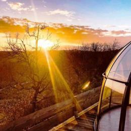 coucher de soleil - Chambre d'hôtes - Labastide-de-Penne