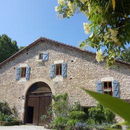 la grange du moulin de Tauran  - Chambre d'hôtes - Lauzerte