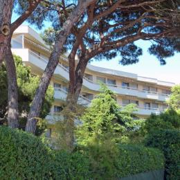 Vue de la Résidence et jardins privés - Location de vacances - Fréjus
