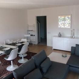 Pièce à vivre Salon/Séjour - Location de vacances - Fréjus