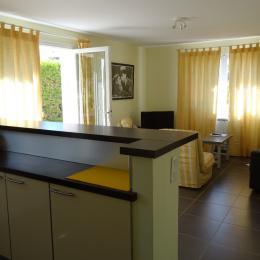 Le jardin attenant privatif, sans vis à vis - Location de vacances - Saint-Raphaël
