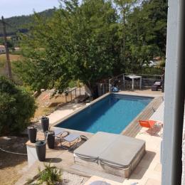 Bastide 8 personnes, piscine, jacuzzi, billard à Saint Cyr sur Mer- les extérieurs - Location de vacances - Saint-Cyr-sur-Mer