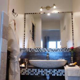 Douche chambre Amaryllis - Chambre d'hôtes - La Farlède