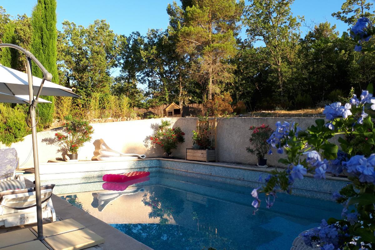 location Mons  Var, piscine  - Location de vacances - Mons