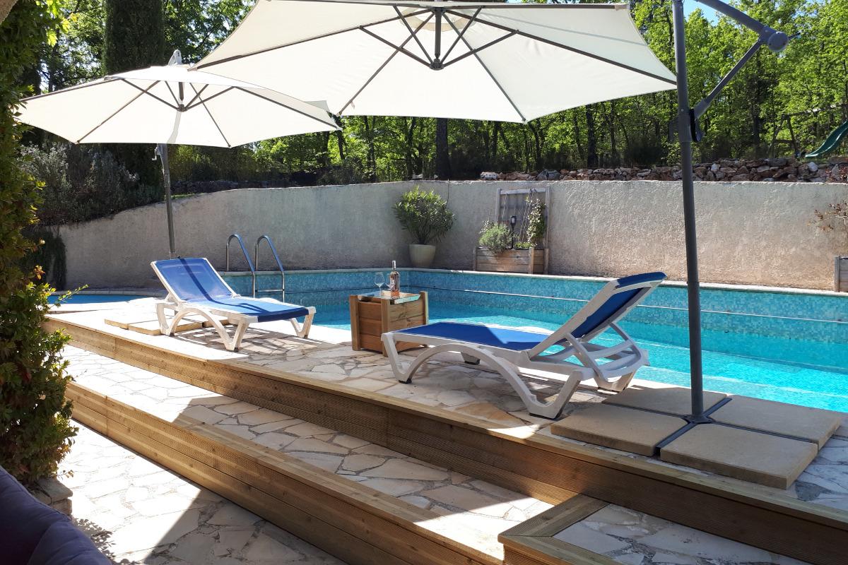 location mons var  maison et jardin - Location de vacances - Mons