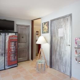 Effet  Mer 83 :  le salon - Location de vacances - Saint-Mandrier-sur-Mer