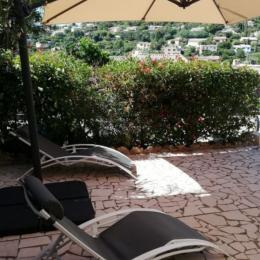 terrasse sud - Location de vacances - Cavalaire-sur-Mer