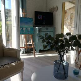 salon séjour - Location de vacances - Cavalaire-sur-Mer