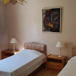 Chambre 1 - Location de vacances - Oppède