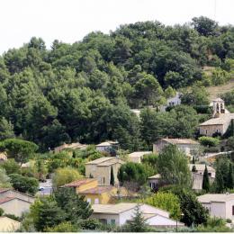 Vue du village ©HOCQUEL Alain - Vaucluse Provence  - Location de vacances - Gargas