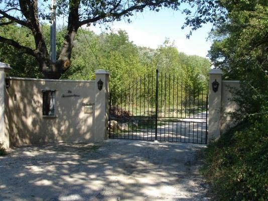 entrée domaine - Location de vacances - Carpentras