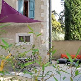 Piscine - Location de vacances - Beaumes-de-Venise