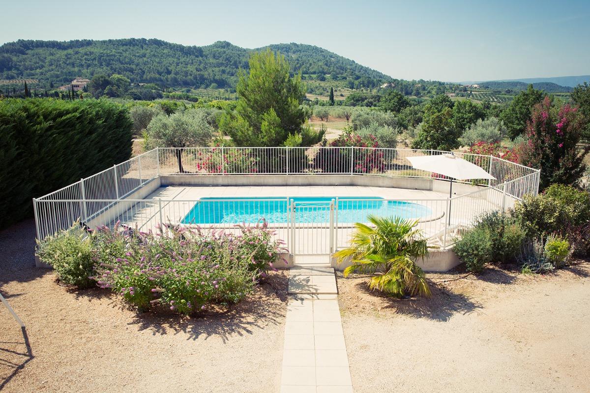 La maison vue de l'extérieur - Location de vacances - Saint-Saturnin-lès-Apt
