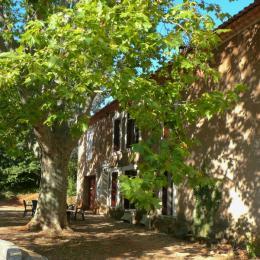 La grande terrasse  de l'ouest - Location de vacances - Roussillon