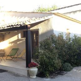Terrasse - Location de vacances - Pernes-les-Fontaines