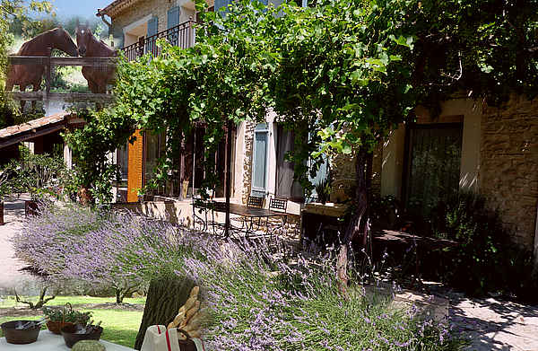 Grande terrasse ombragée - Location de vacances - L'Isle-sur-la-Sorgue