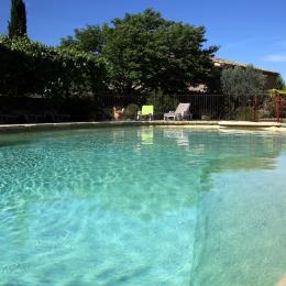 Les pieds dans l'eau (piscine 16 m x 8 m) - Location de vacances - Villedieu