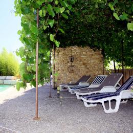 Repos sous la tonnelle - Location de vacances - Villedieu