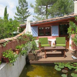 la terrasse côté sud - Location de vacances - Apt