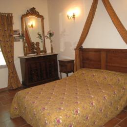 la chambre du gîte - Location de vacances - Saint-Didier