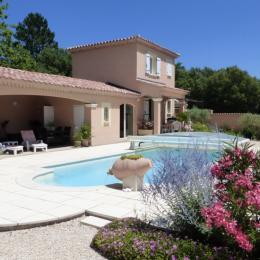 La piscine, la Maison - Location de vacances - Bédoin