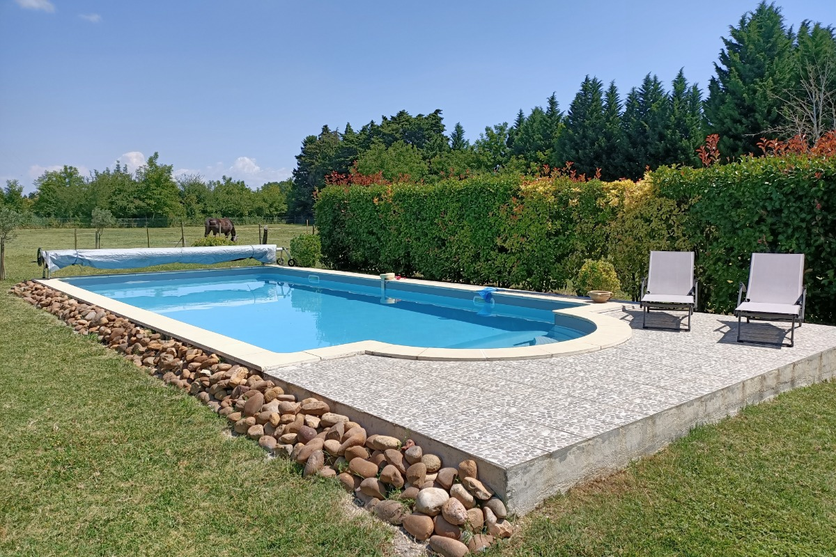 La piscine - Location de vacances - Le Thor