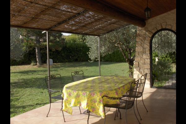 la maison vue du jardin - Location de vacances - Vaison-la-Romaine