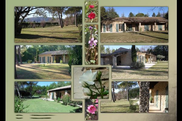 jardin clos - Location de vacances - Gordes