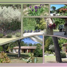 vues du jardin - Location de vacances - Gordes