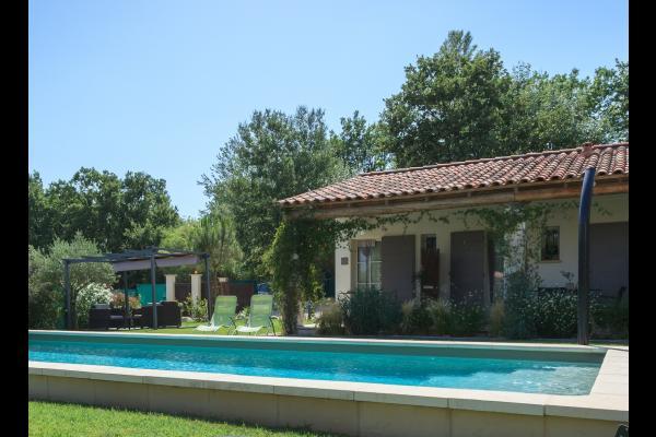 la Terrasse couverte - Location de vacances - Aubignan