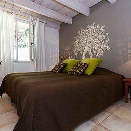 chambre rez-de-chaussée - Location de vacances - Aubignan
