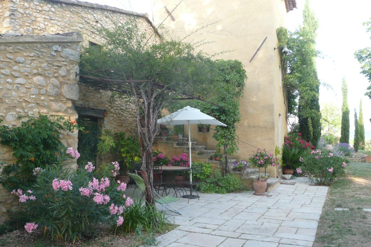 La terrasse - Location de vacances - Villars